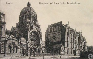 Głogowska synagoga. Źródło: wroclaw.hydral.com.pl